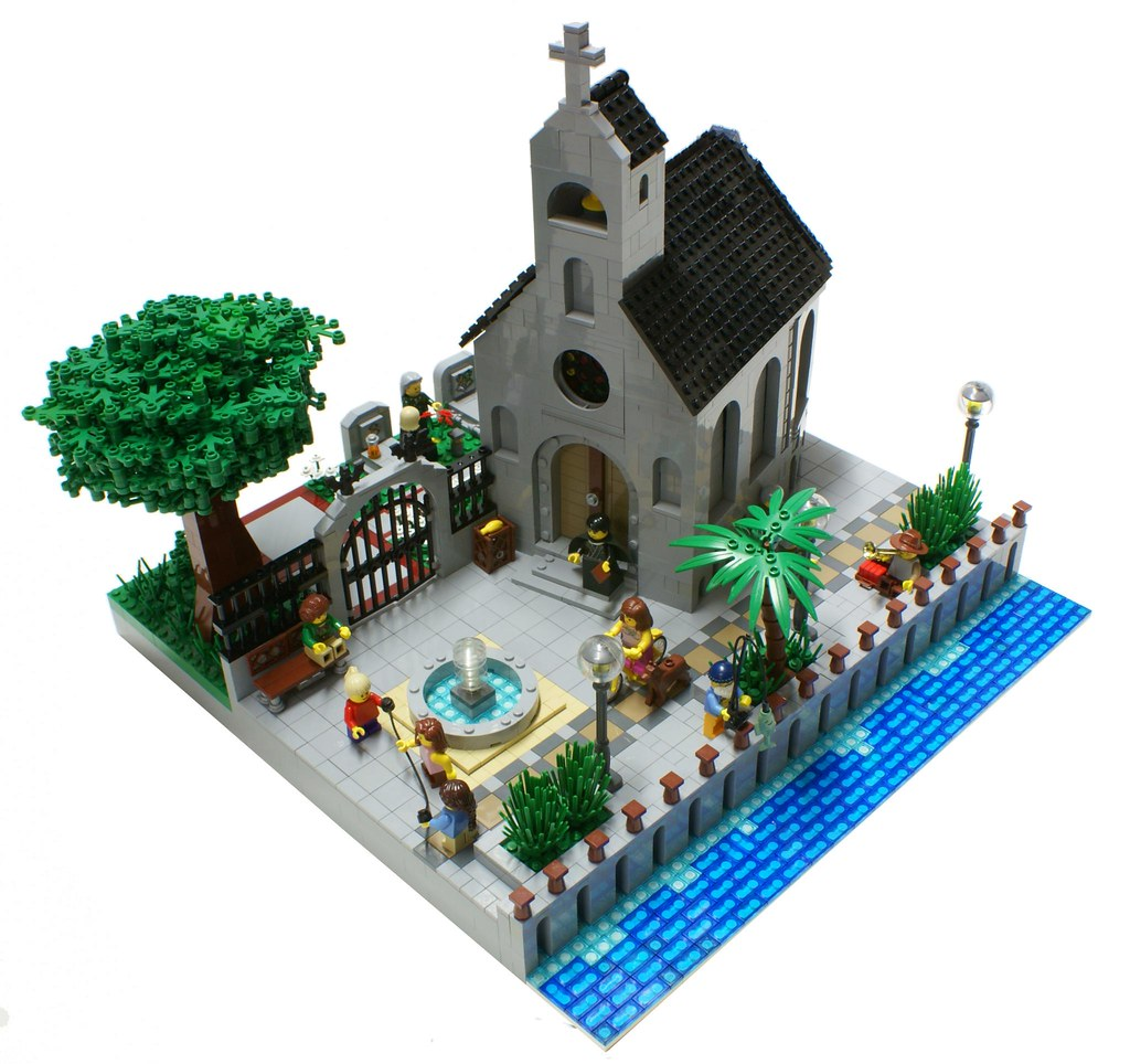 Seaside Church Old Church On A Seaside Inspired By An