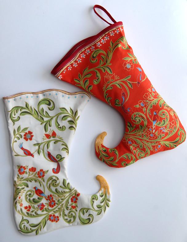 christmass stocking la russe de jolie chaussette de noel flickr. Black Bedroom Furniture Sets. Home Design Ideas