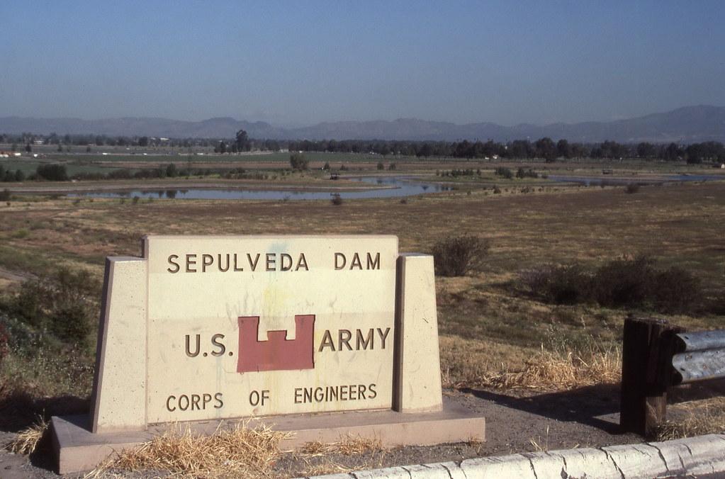 Sepulveda Dam Flooding Sepulveda Dam Flood Control Area