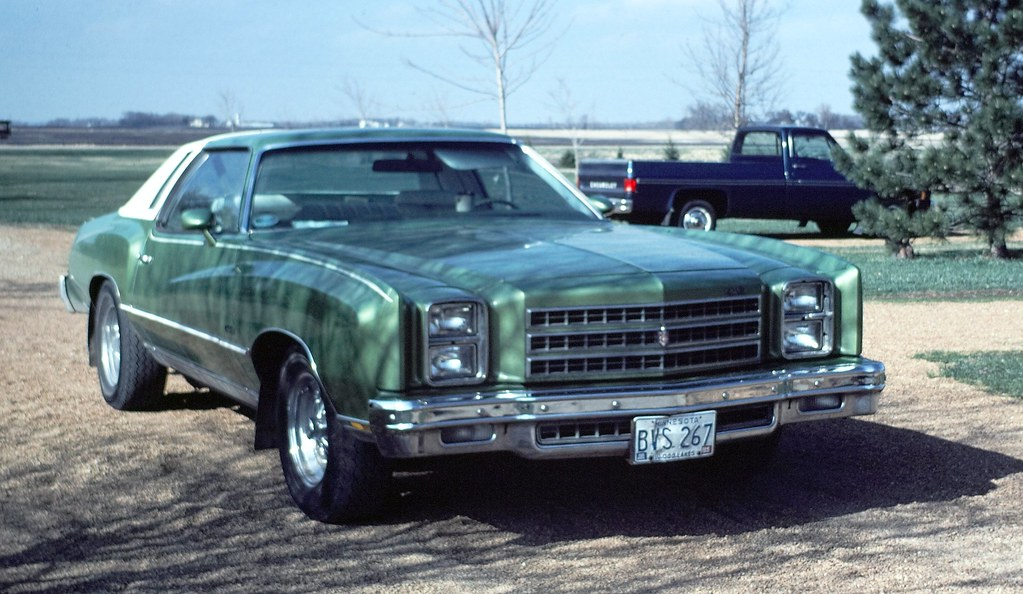76 Chevrolet Monte Carlo This Belonged To My Brother In