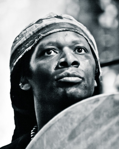 Hamid Drake | by Peter Gannushkin