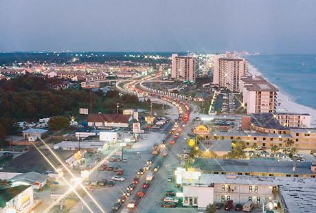 Panama City Beach Strip Spring Break