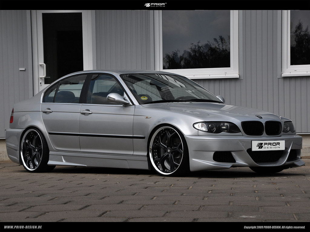 prior design bmw e46 3 series sedan body kit 323i 325i. Black Bedroom Furniture Sets. Home Design Ideas
