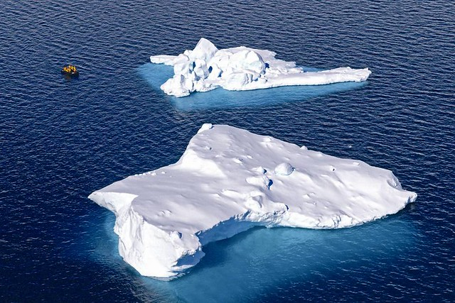 日益消融的南極冰山-1 圖片提供:陳維滄