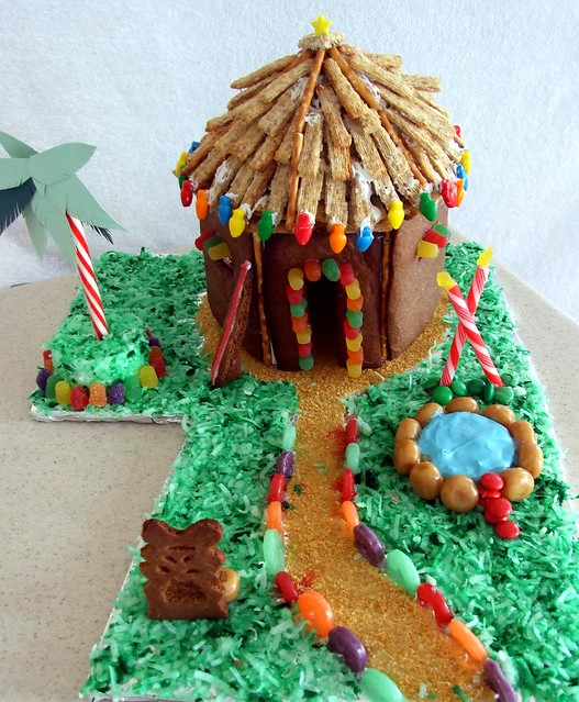 Hawaii Tropical Gingerbread House Hut Flickr Photo