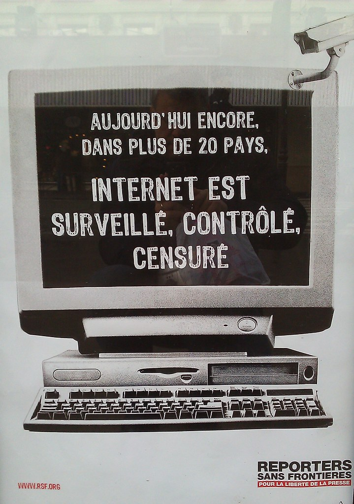 Affiche Reporters Sans...