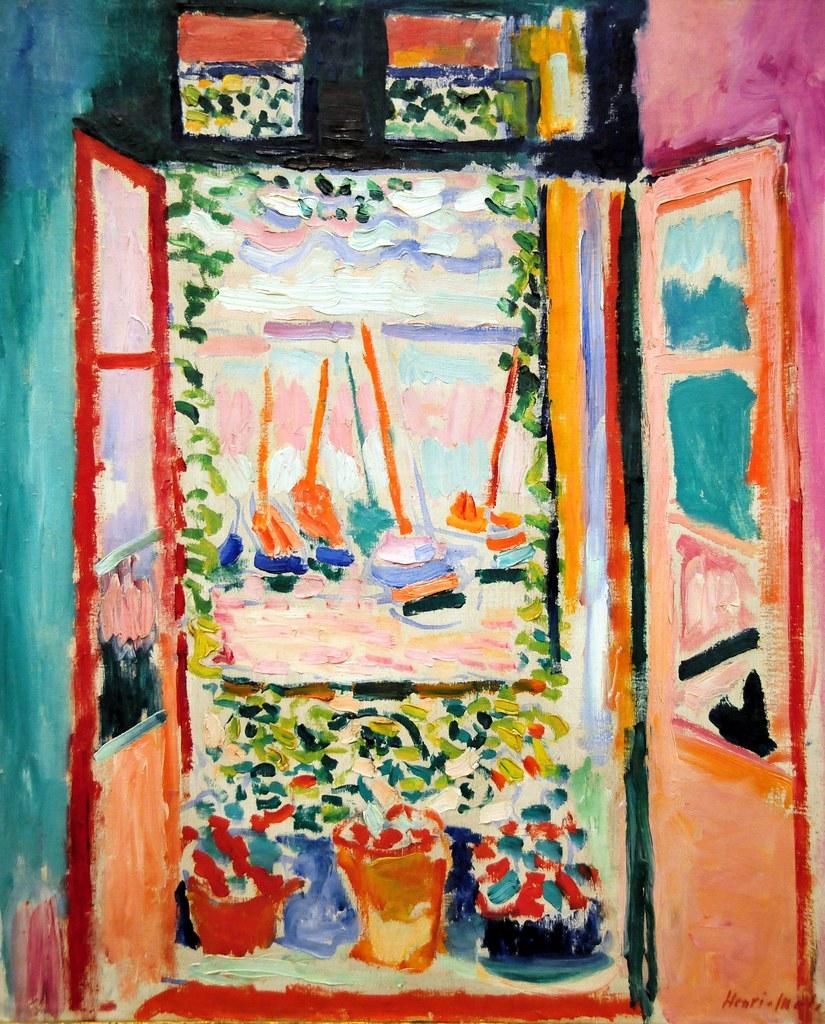 Open window matisse - Henri Matisse Open Window Collioure At National Art Gal