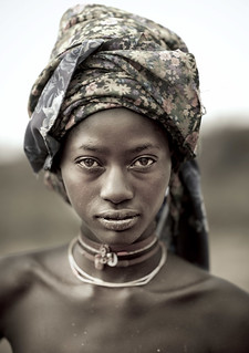 Mucubal tribe beauty - Angola | by Eric Lafforgue