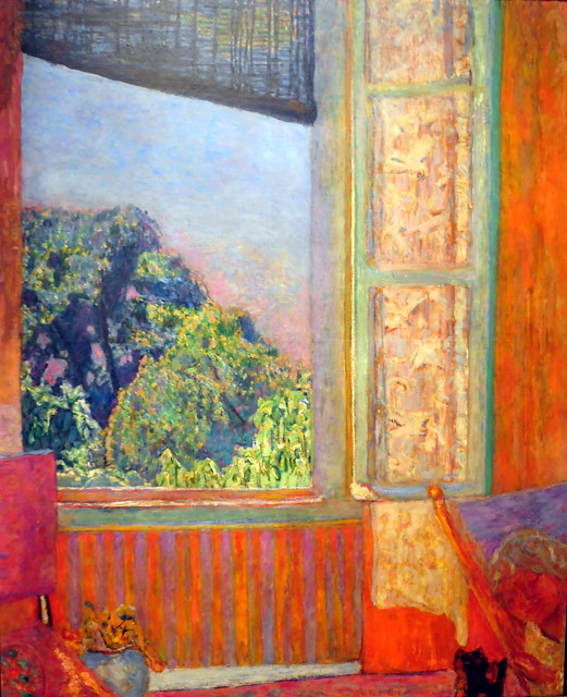 Pierre bonnard the open window at phillips collection for Matisse fenetre ouverte