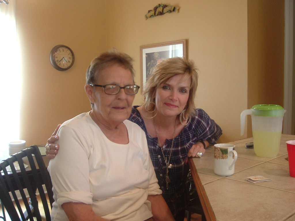 Stella  Mother In Law  And Donna Carline