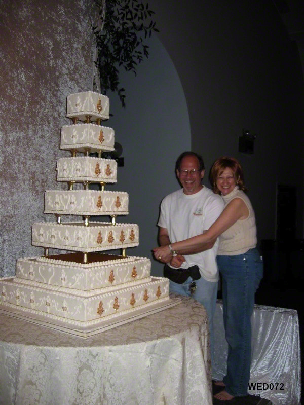 Wed072 7 Tier Indian Square Wedding Cake Www 3brothersbake