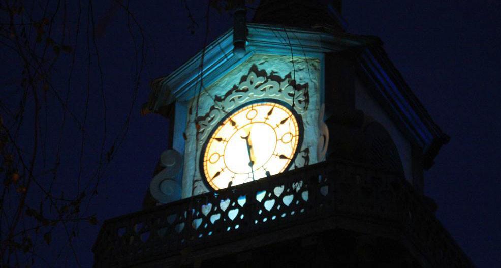 Peter Pan Clocks Peter Pan Clock Tower   by