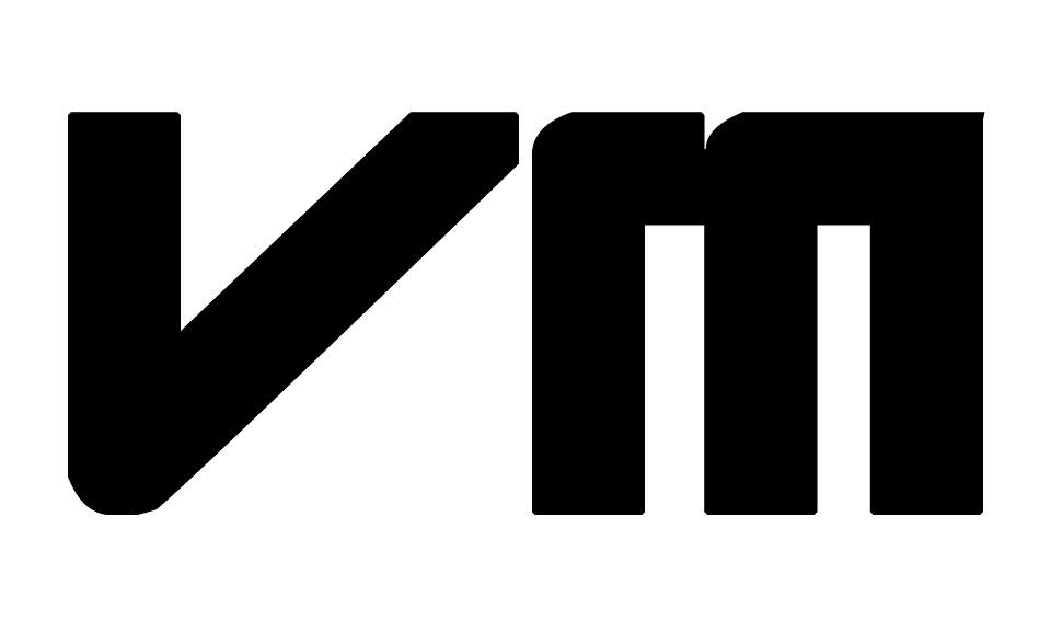 Vm Logo 51 Minimal On White Virtualmusic Tv Logo Ryan