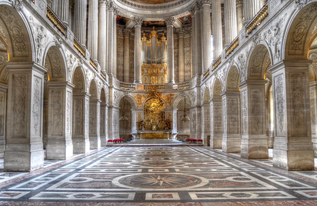 Chateau de versailles la chapelle royale hdr manuel flickr - Photo chateau de versailles ...
