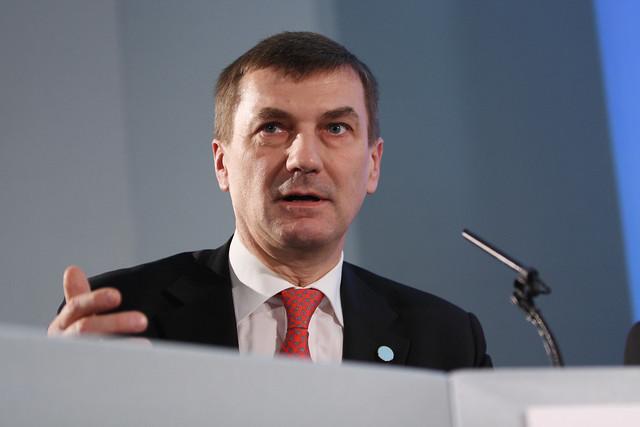 Prime Minister of Estonia Andrus Ansip