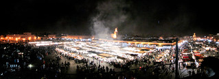 Marrakech's Jemma el-Fna by night | by MastaBaba