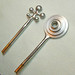 18K Greek Shield Diamond Earrings / WIP / 4