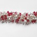 Rose Pink glass bead bracelet (5)