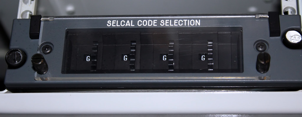 SELCAL Code Selection Panel | Entropía | Flickr