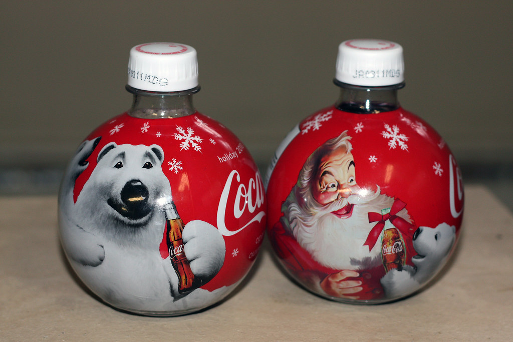 2010 Coca Cola Christmas Ornament Bottles This Is The