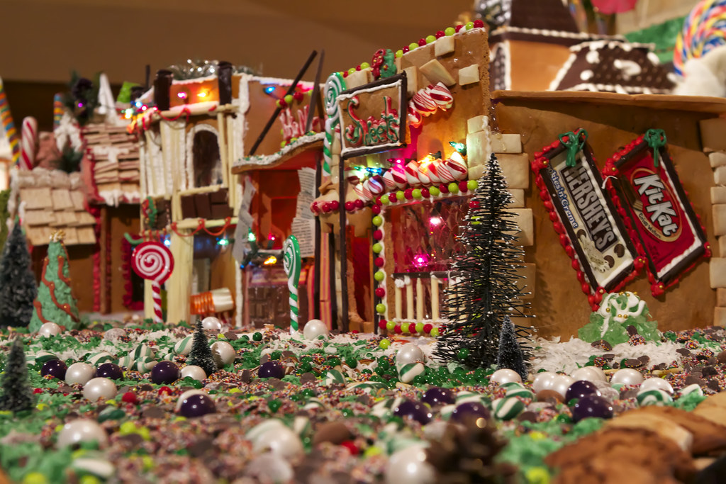 Willy Wonka S Gingerbread Land Ok So I Must Admit That