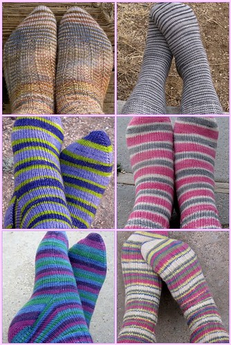 Socks knit in 2010 | by kafski