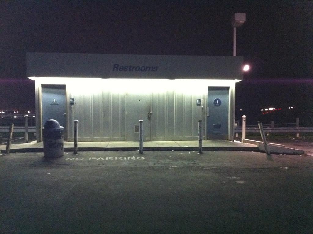 76 Gas Station Bathroom Michael Mcclurg Flickr
