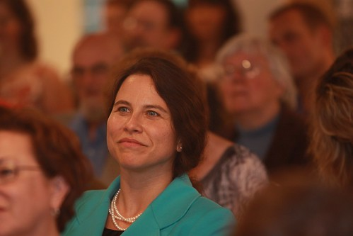 Rep. Maeghan Maloney and crowd | by EmergeMaine