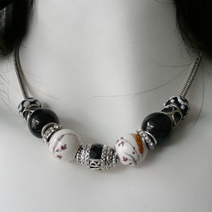Pandora Style Beads Necklace Flickr