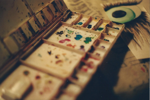 watercolors. | by ah! guh-ness.