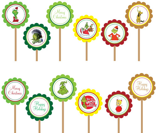 Grinch Seuss Christmas Winter Holiday- Printable DIY Party… | Flickr
