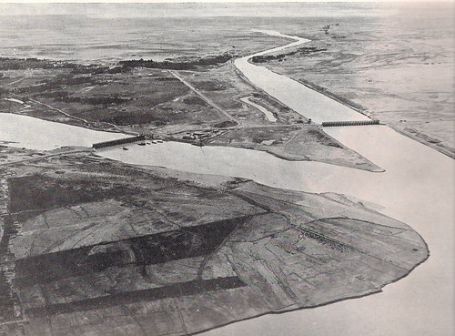 Warrar Dam in Anbar Iraq 1957