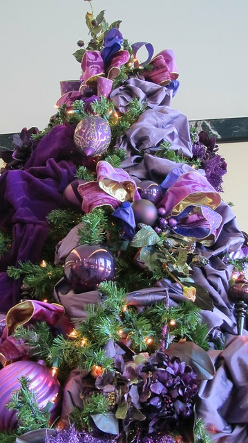 purple christmas tree flickr photo sharing