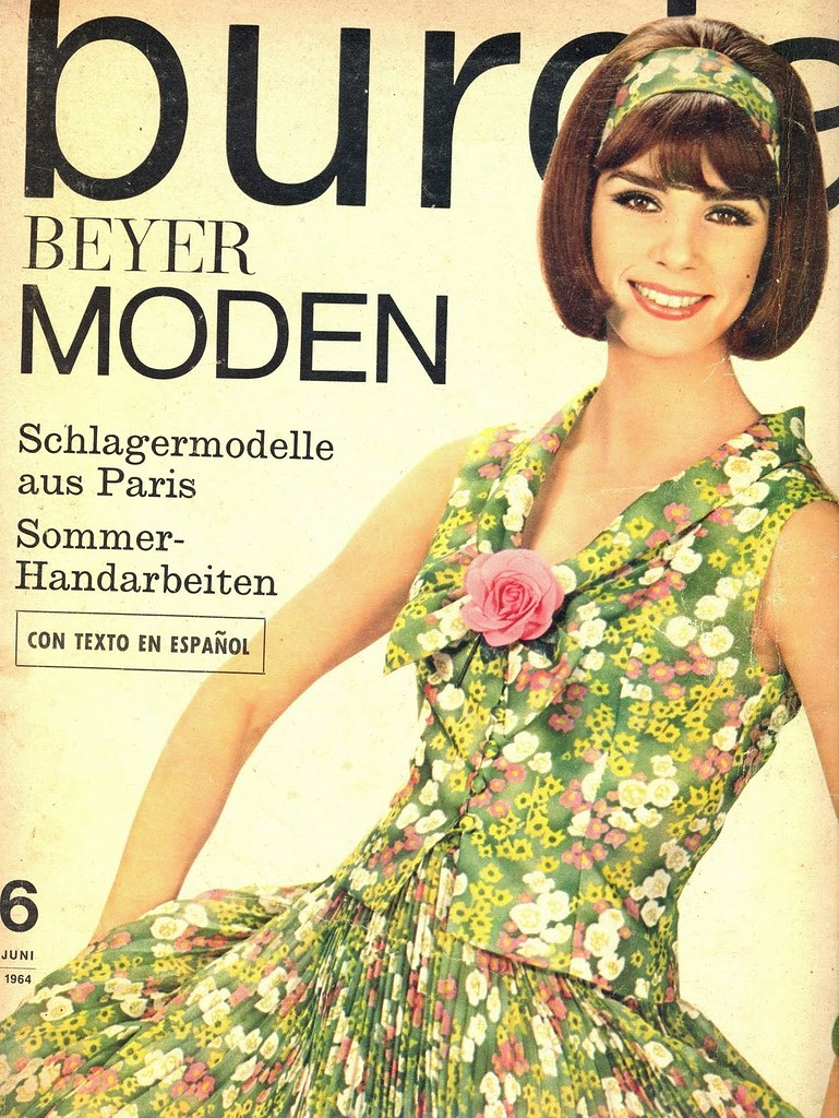 Burda Beyer June 1964 German Fashion Magazine Burda Beyer Flickr