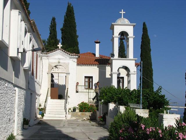 MONASTERY OF PANAGIA SPILIANI  Nahe bei Pythagorio Kloster …  Flickr - Phot...