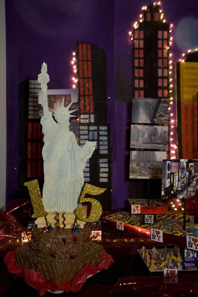Fiesta tem tica de 15 a os ny torta ar centro de for B b new york centro