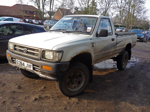 1989 Toyota Hilux 2 4d Flickr Photo Sharing