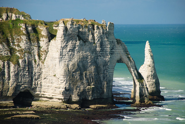 Famous shot of Etretat