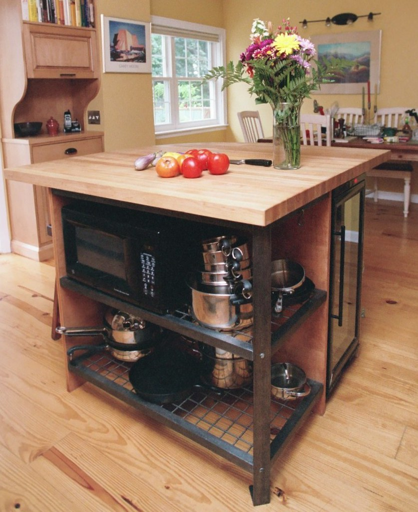 Custom Kitchen Islands Ready Rugged And Functional Is Thi Flickr