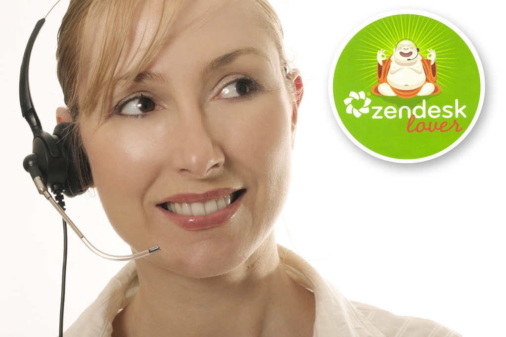 Zendesk Lover Stickers Help Desk Assistant Service