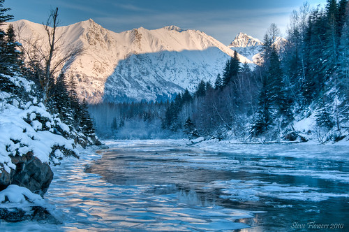 Alaska 39 s winter chill chugach mountains december 2nd for Foto inverno per desktop