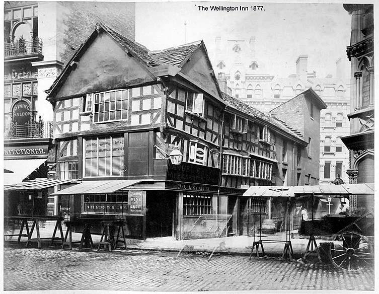 The Wellington Inn Manchester 1877 Gb124 Q38 The