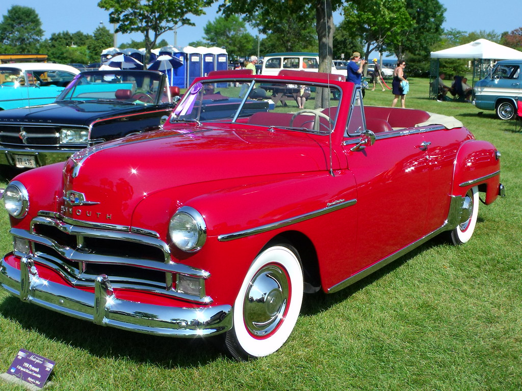 I Convertible >> 1950 Plymouth convertible | I was thinking this was the one … | Flickr