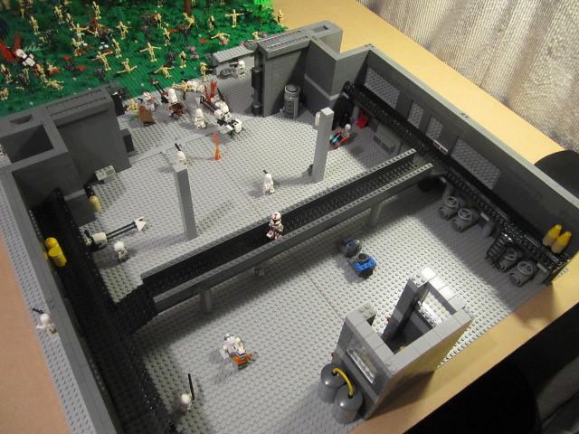 Star Wars Clone Base Lego Star Wars Clone Base