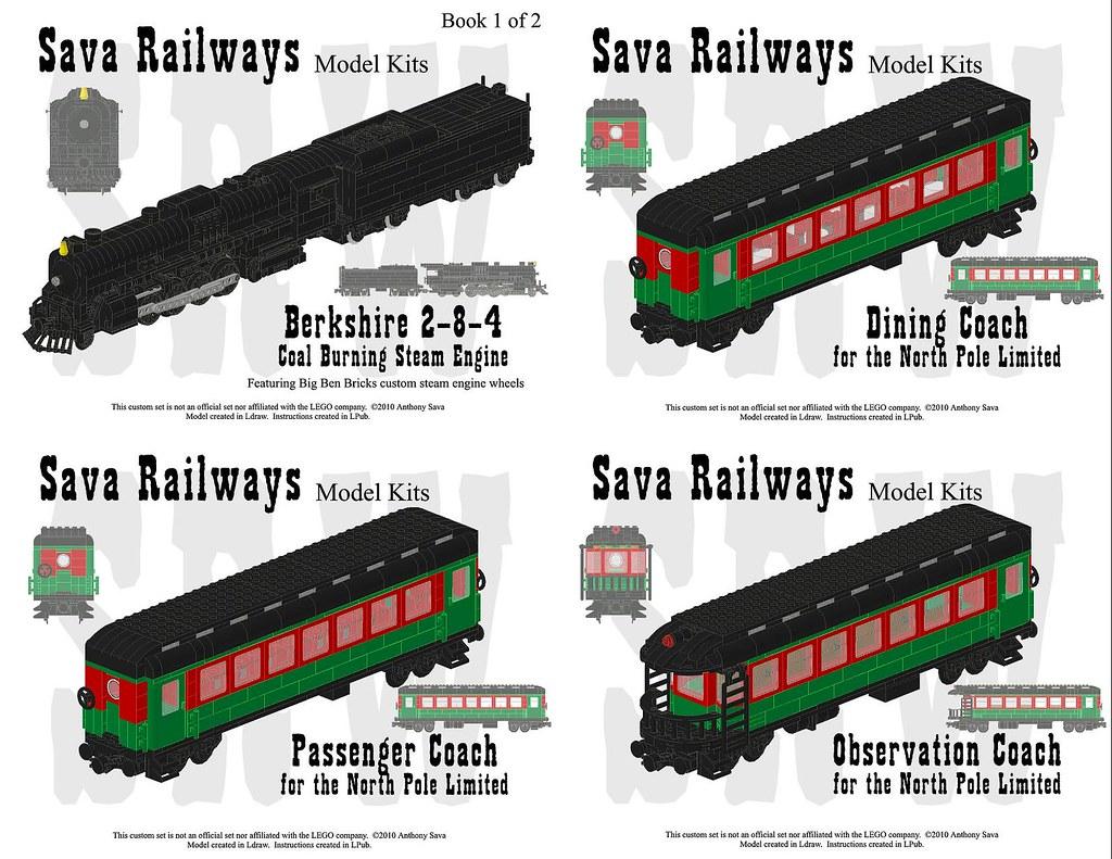 lemax north pole railway instructions