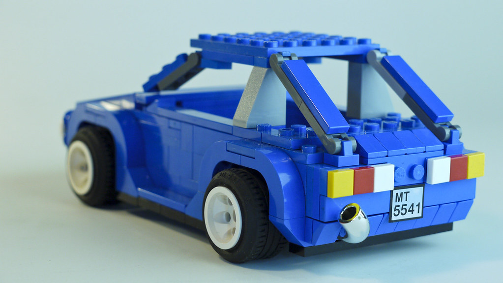 lego volkswagen golf mk work  progress  working flickr