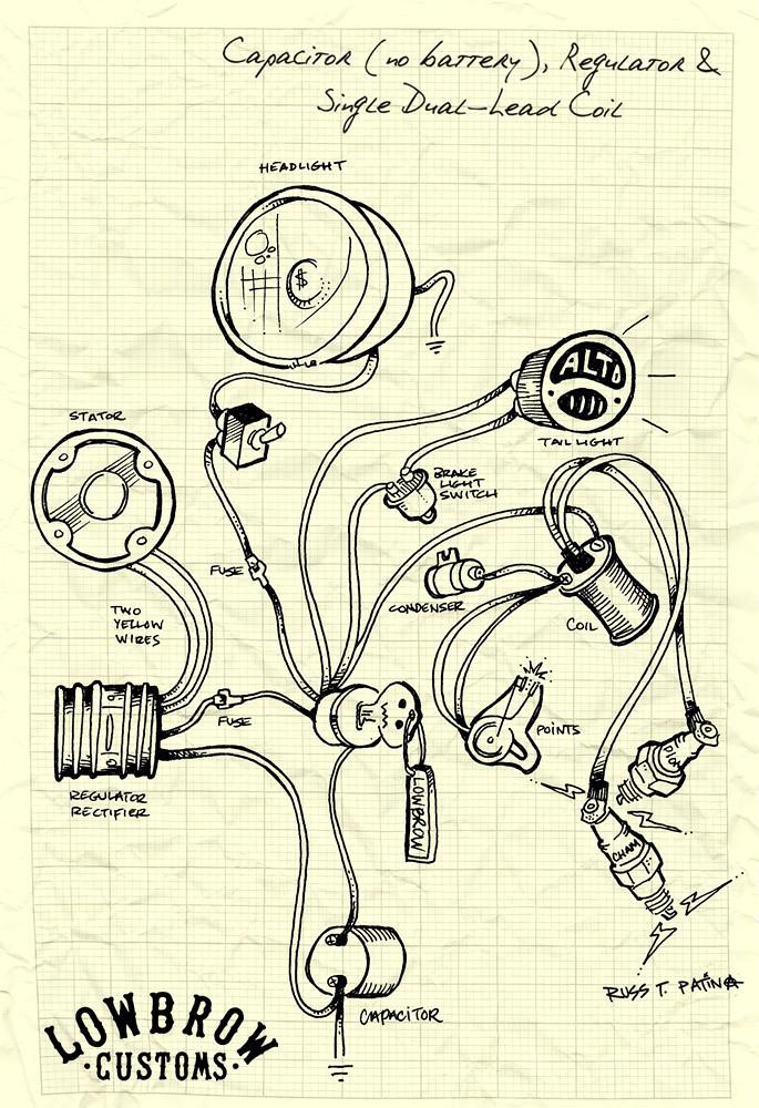 battery wiring diagram magneto battery diy wiring diagrams magneto no battery wiring schematic nilza net