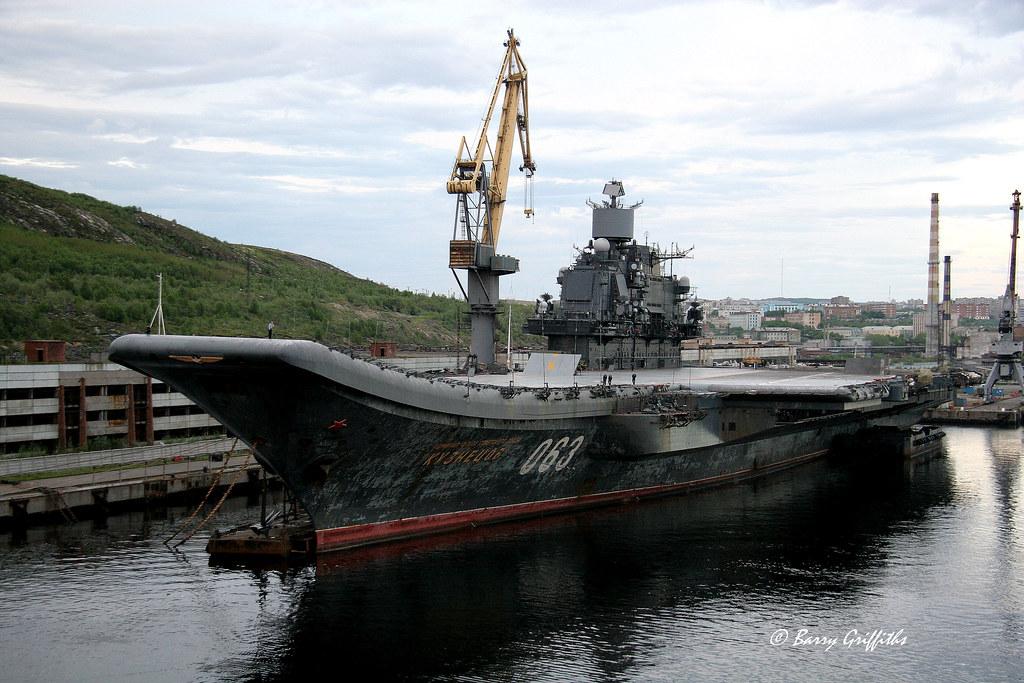 russian aircraft carrier admiral kuznetsov  cv 063  murman u2026