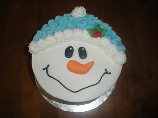 Snowman Face | by Tasty Cakes by Jennifer