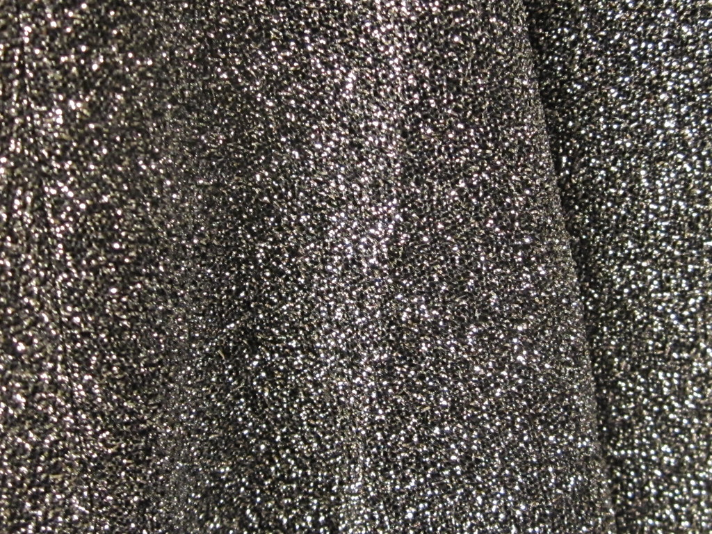 Black and silver glitter background